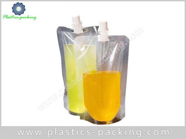 1 Liter Stand Up Pouch with Sealed Spout Cap 679