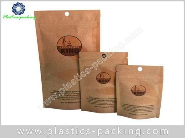 1 Oz Stand Up Kraft Paper Pouch Manufacturers yythk 315