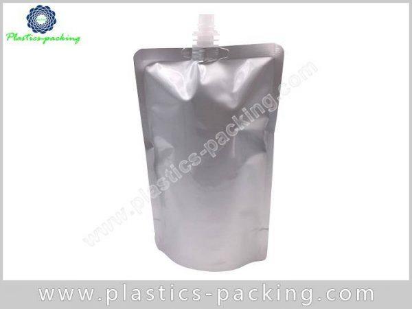 100 Ml Clear Plastic Stand Up Juice Spout Ba 594