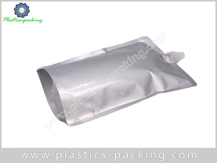 100 Ml Clear Plastic Stand Up Juice Spout Ba 596