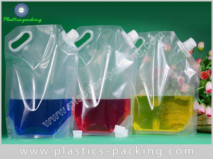 140Mic NY PE Laminated Spout Pouches for W 588