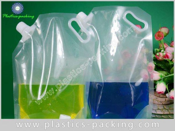140Mic NY PE Laminated Spout Pouches for W 592