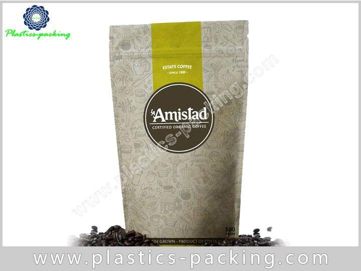150g Stand Up Coffee Bags with Oval Window a 566