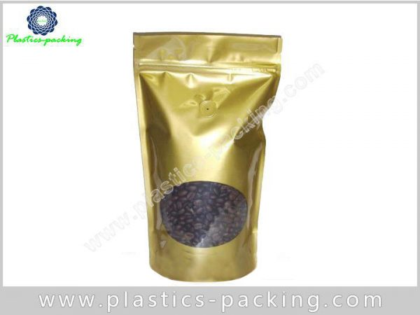 150g Stand Up Coffee Bags with Oval Window a 568