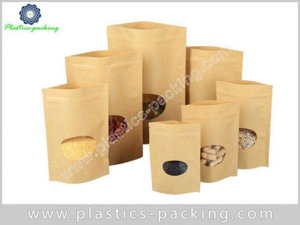 16 Oz Natural Kraft Stand Up Pouch Manufacturers yy 292