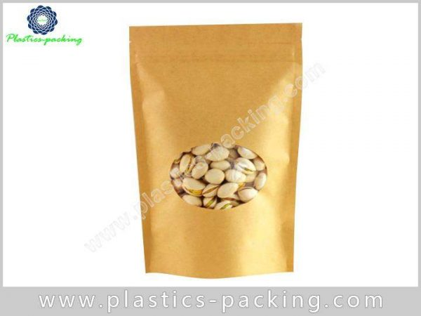 16 Oz Natural Kraft Stand Up Pouch Manufacturers yy 293