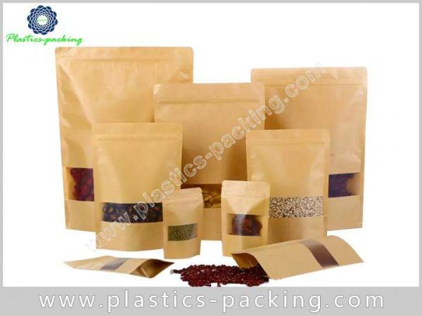 16 Oz Natural Kraft Stand Up Pouch Manufacturers yy 294
