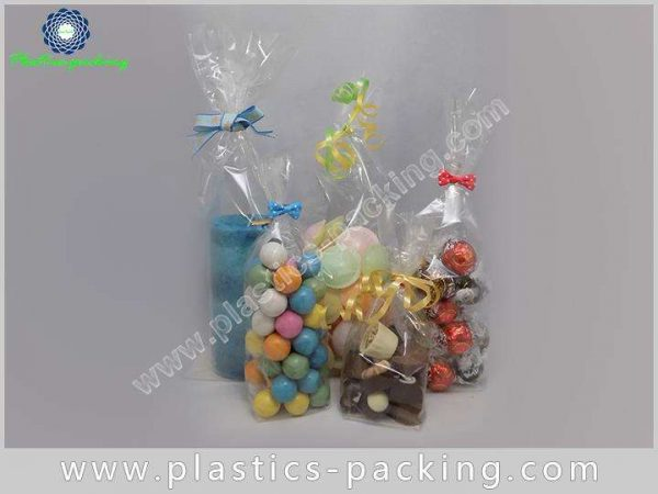200PCS Self Adhesive Seal Rectangle Clear Cellophane yythk 724 1