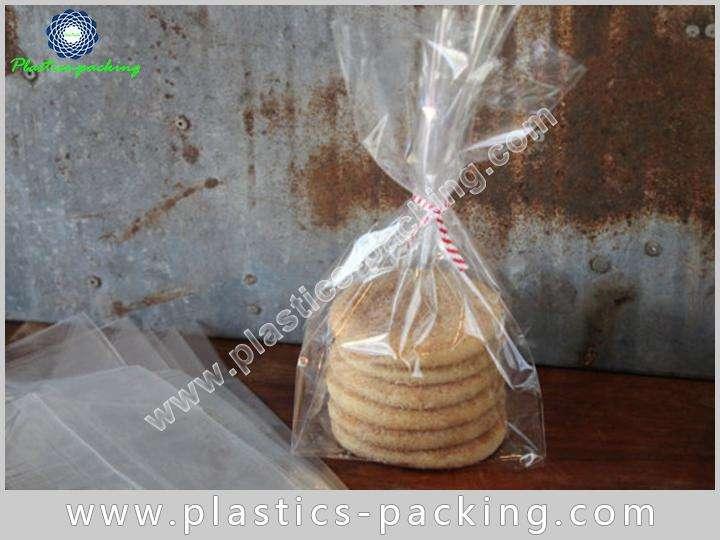 200PCS Self Adhesive Seal Rectangle Clear Cellophane yythk 730 1