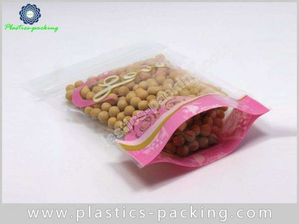 200g Clear Stand Up Zipper Pouch Manufacturers and 613