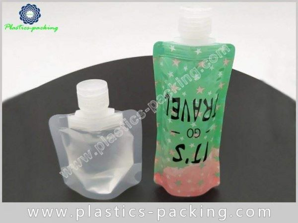 200ml Transparent Beverage Spout Pouch Manufacturers and y 510
