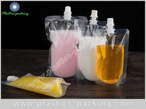 200ml Transparent Beverage Spout Pouch Manufacturers and y 511
