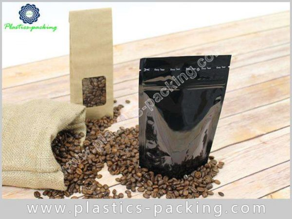 250 G Stand Up Coffee Bags Ziplock with Dega 553
