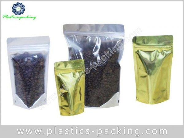 250 G Stand Up Coffee Bags Ziplock with Dega 554