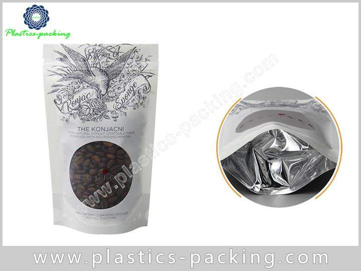 250 G Stand Up Coffee Bags Ziplock with Dega 555