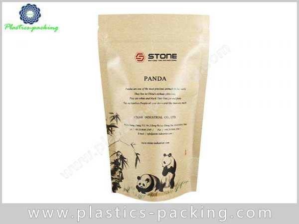 250g Kraft Paper Zipper Pouch Manufacturers and Sup 249