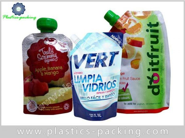 2L Flexible Printed Plastic Detergent Spouted Pouch yythkg 669