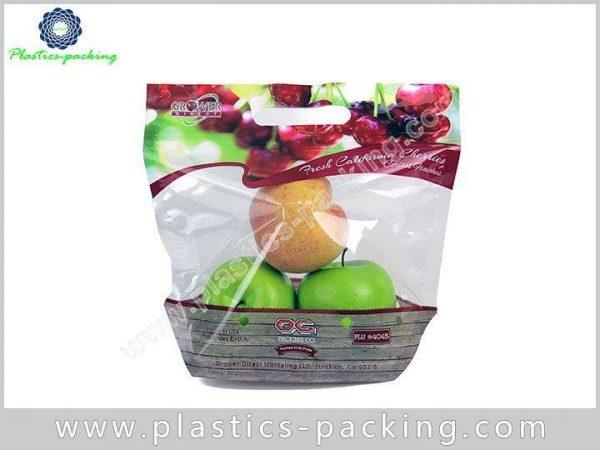 2kg Grape Fruit Packaging with PE Slider Zipper yyt 189