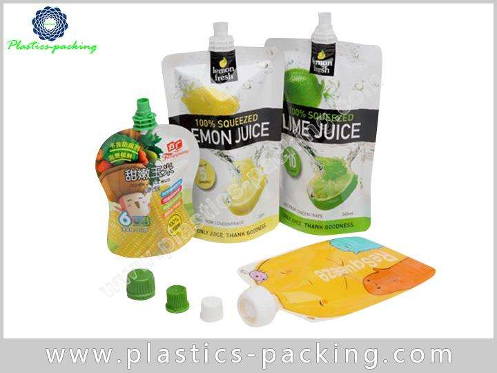 300ml Spout Pouch For Packing Juice Manufacturers a 496