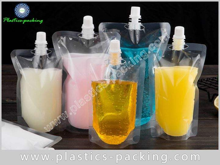 350ml Liquid Packaging Spout Pouch Manufacturers and yythk 482