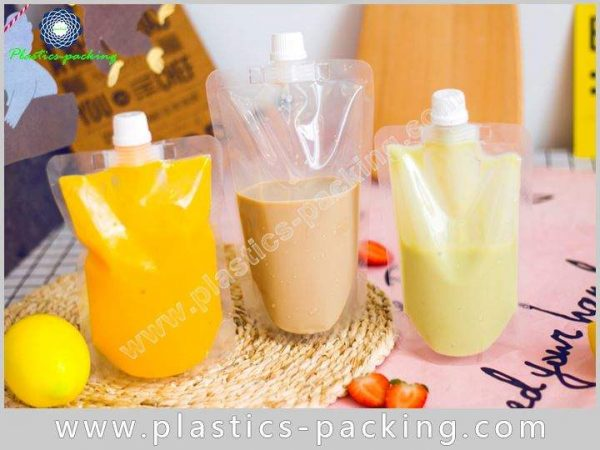 350ml Liquid Packaging Spout Pouch Manufacturers and yythk 485