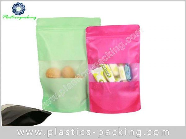 4 OZ Stand Up Pouches With Rectangular Window yythk 714