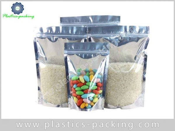 4 Oz Stand Up Rice Zipper Pouch Manufacturers yythk 705