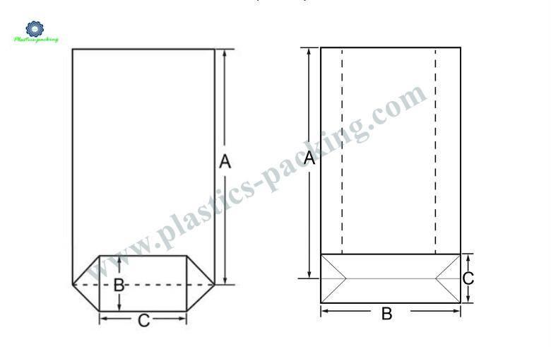 40 µm Heat Sealing Block Bottom Bags Manufacturers 810 1