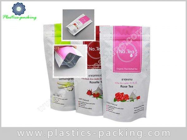 5x8 Inch Reclosable Stand Up Zipper Bag Manufacture 693