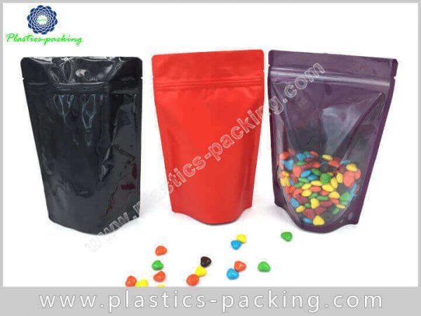 8 Lb Clear Stand Up Zipper Pouch Manufacturers and 678