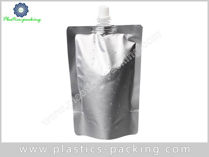 8 Oz Liquid Pouch Packaging With Spout Manufacturer 533