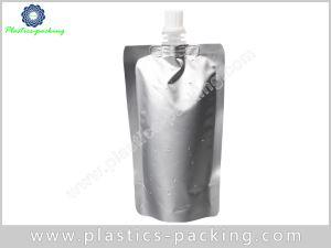 8 Oz Liquid Pouch Packaging With Spout Manufacturer 535