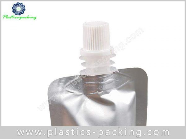8 Oz Liquid Pouch Packaging With Spout Manufacturer 537