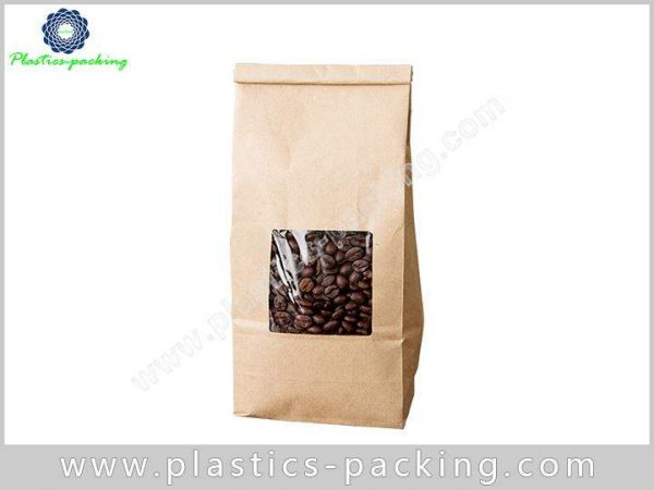 Aluminum Foil Coffee Packaging Bags with Zipper Top 493