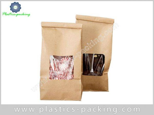 Aluminum Foil Coffee Packaging Bags with Zipper Top 494