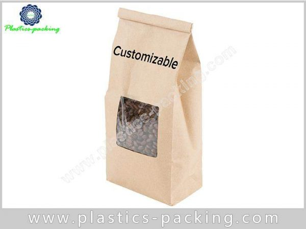 Aluminum Foil Coffee Packaging Bags with Zipper Top 495