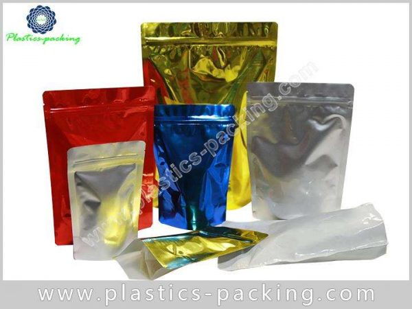 Aluminum Foil Food Packaging Zipper Bags Manufacturers yyt 588
