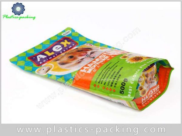 Aluminum Foil Moisture Proof Plastic Stand Up Pet Food Bags With Resealable Zipper 9