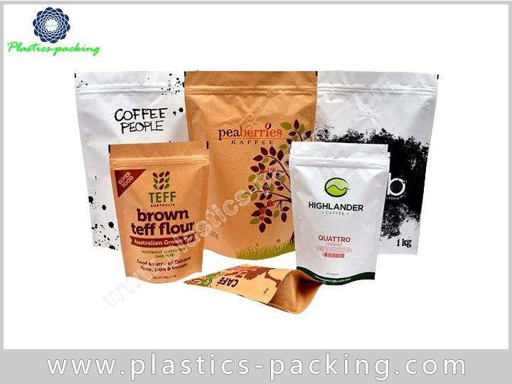 Aluminum Foil Plastic Pouch Stand Up Ziplock Bags y 0120