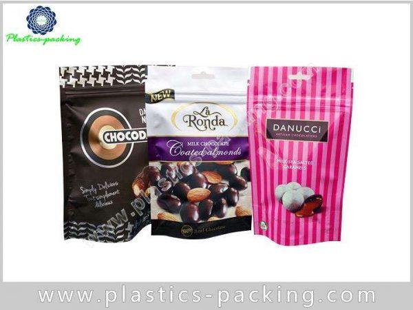 Aluminum Foil Plastic Pouch Stand Up Ziplock Bags y 0122