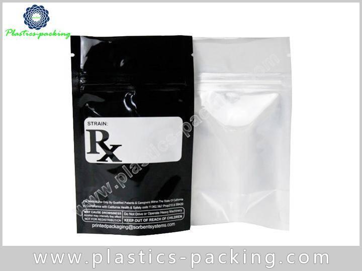 Aluminum Foil Ziplock Bag for Food Sugar Use yythkg 0148