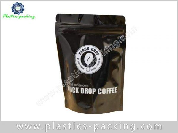 BOPP Matte Pure Aluminum Foil Zip Lock Bags 0155
