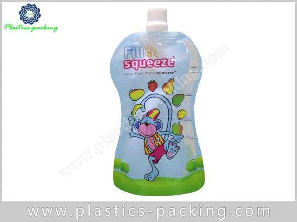 Baby Food Sealing Spout Pouch Manufacturers and Sup 457