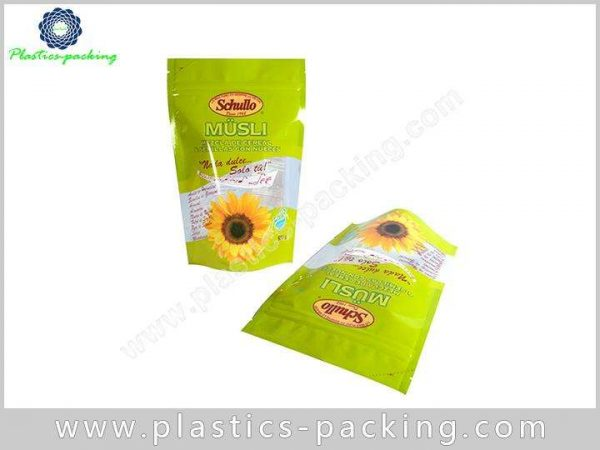 Bottom Gusset Food Packaging Bags 140 Micron Thick 0167