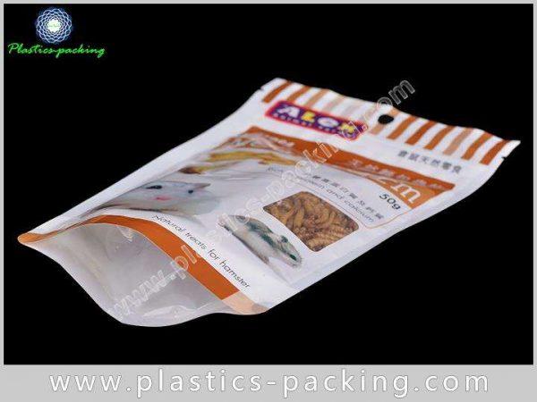 Bottom Gusset Pet Food Bags With Zipper 100g 250g 500g Custom Printed Colour Pet Food Packaging 10