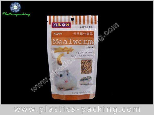 Bottom Gusset Pet Food Bags With Zipper 100g 250g 500g Custom Printed Colour Pet Food Packaging 8