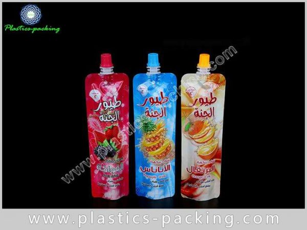 Bottom Gusseted Reusable Spout Pouches Bag for Sham 446