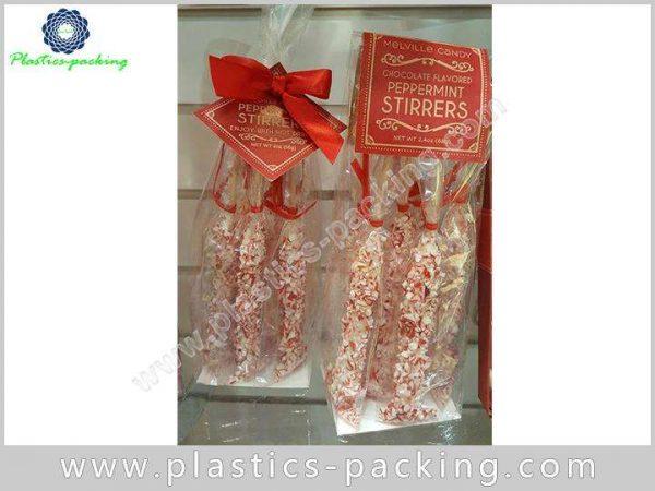 Buy Flat Base Plastic OPP Printed Block Bottom yyth 124