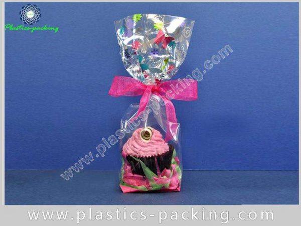 Chocolate Bar Square Bottom Cellophane Bag OPP Glue 653 1