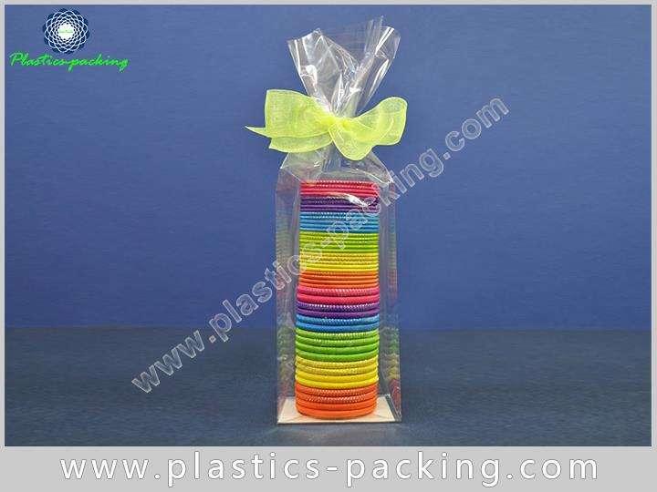 Chocolate Bar Square Bottom Cellophane Bag OPP Glue 654 1